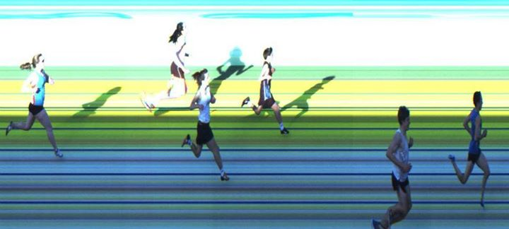 AITT 2011 October - 300m Heat 2/3 Photo Finish