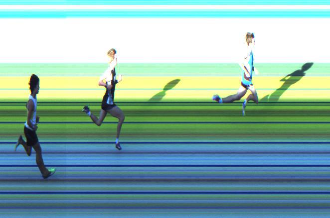 AITT 2011 October - 300m Heat 3/3 Photo Finish
