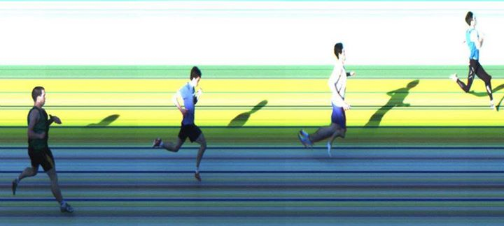 AITT 2011 October - 300m Heat 1/3 Photo Finish