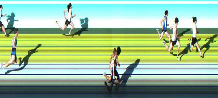 AITT 2011 October - 150m Heat 2/2 Photo Finish