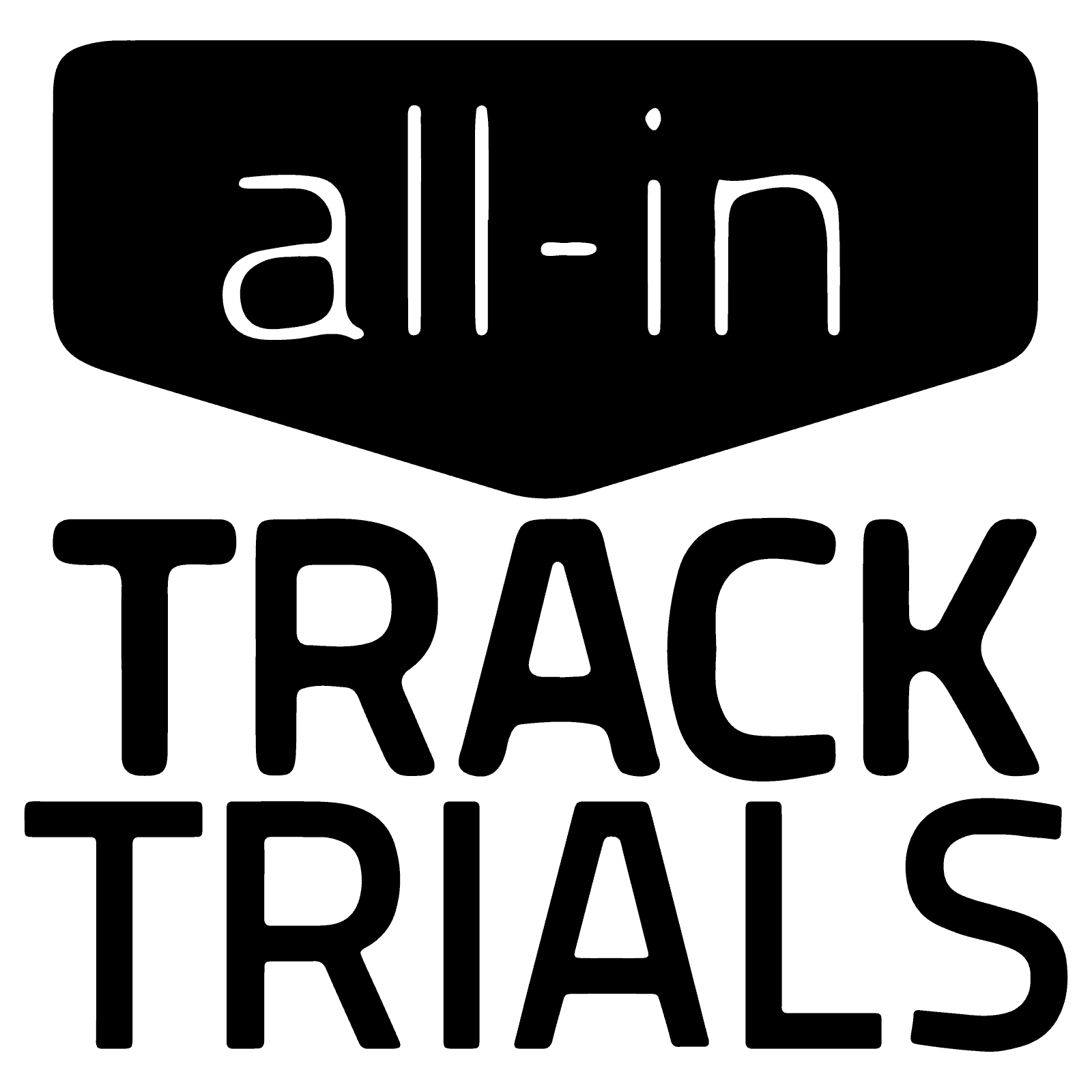 All-In Track Trials Logo
