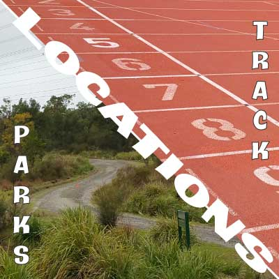 HPD Locations - Athletics Tracks and National Parks