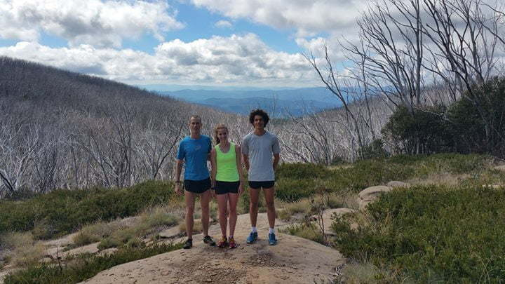 HPD run at Lake Mountain 2015 March