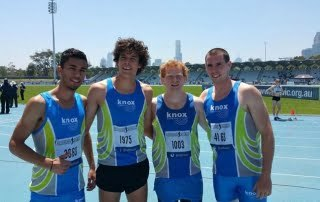 KnoxAths Open Men's Distance Medley Team 2014