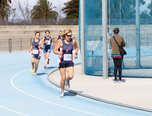 Helen Stanley wins Silver in 2019 Australian Masters Athletics 800m (Women 60-64) National Championships