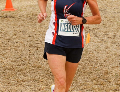 Helen Stanley Bronze in Australian Masters Athletics Cross Country (Women 60-64) National Championships