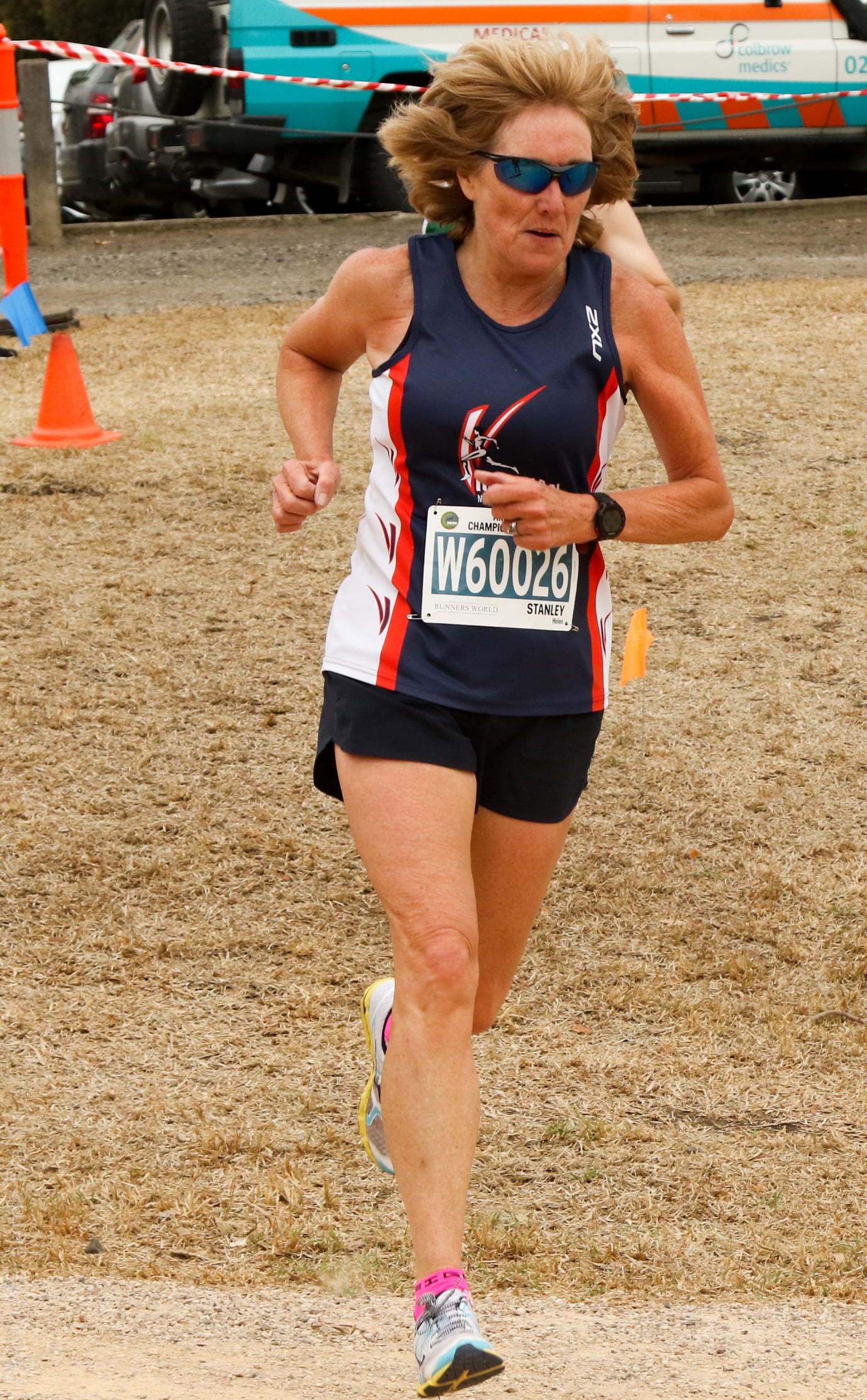 Helen Stanley 2019 Australian Masters Athletics National Championships Cross-Country Women 60-64