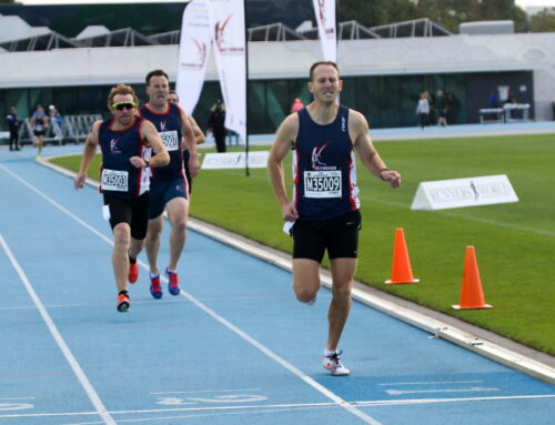 Russell Clowes new Australian Masters Athletics 800m Champion (Men 35-39)